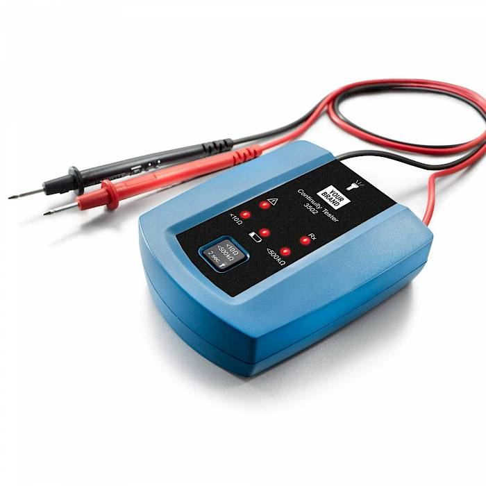 Advanced continuity tester with torch light